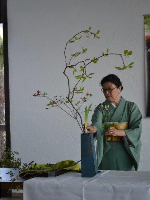 Blumenzeremonie